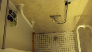 1300mm walk-in shower
